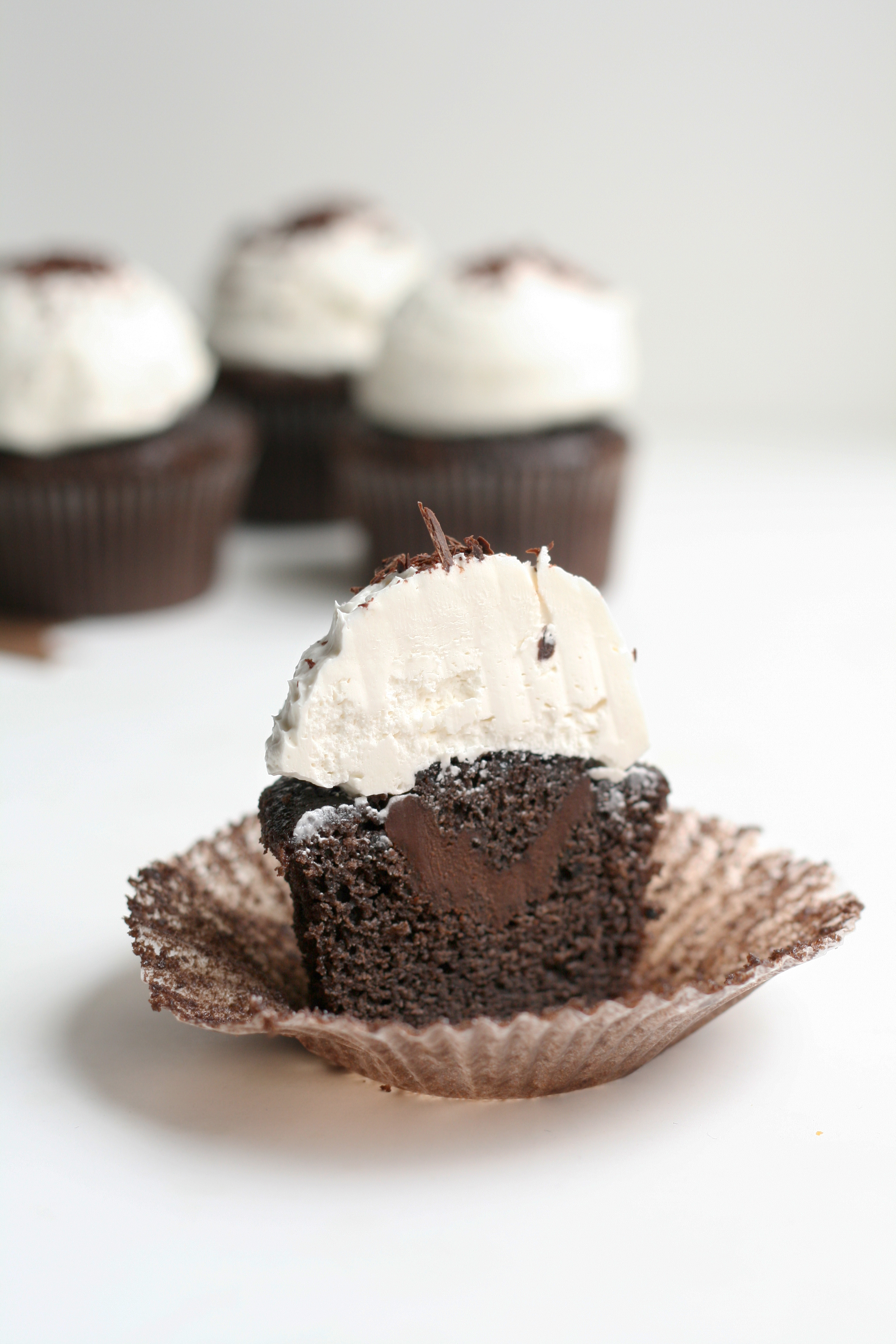 Chocolate Ganache Cupcakes