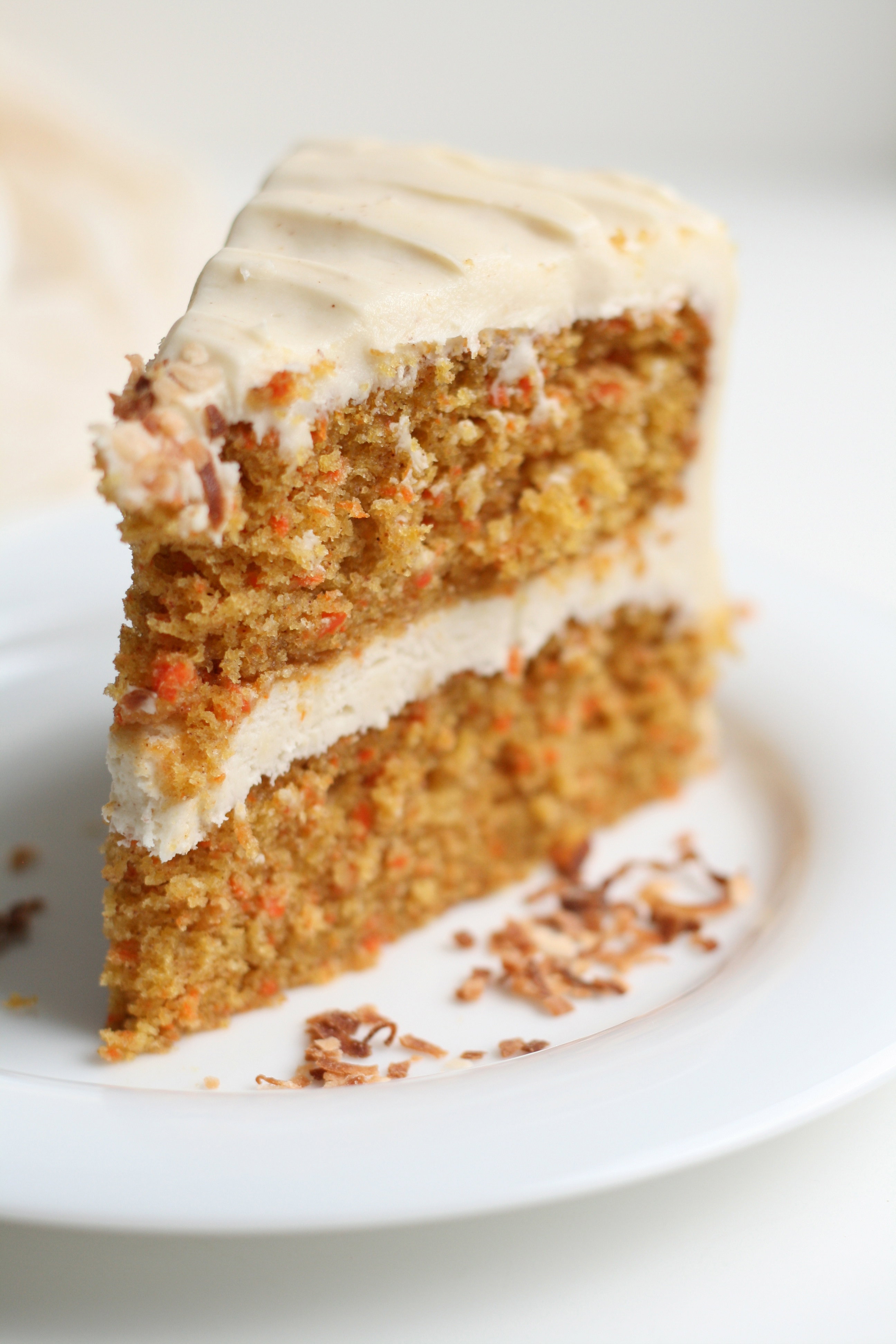 Carrots Cinnamon And Cream Chesse Cake