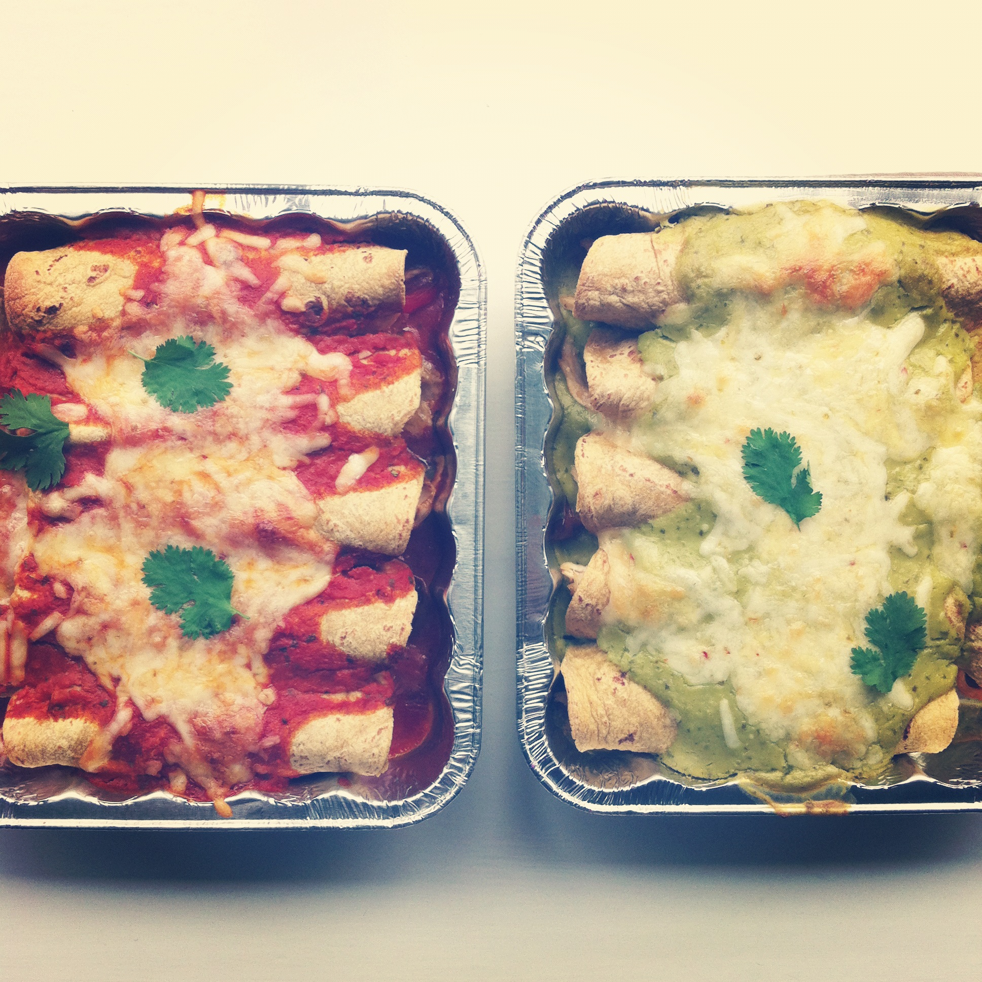 Enchiladas and Freezer Meals